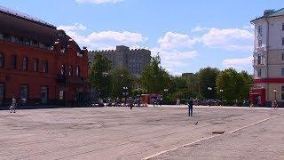 На отремонтированной площади Ленина пензенцы увидят скрытую под землей речку