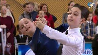 В Великом Новгороде прошли соревнования по танцевальному спорту