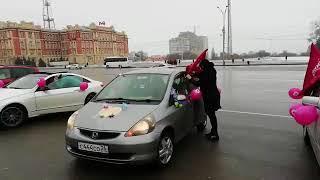 Женский автопробег 8.3.2018 Ростов-на-Дону Главный