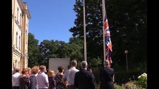 Посольство Великобритании в Петербурге осталось без флага. ФАН-ТВ
