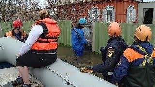 Для противостояния паводку на помощь Волгоградской области прибыли спасатели из других регионов