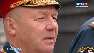 В Перми торжественно проводили в отставку Олега Попова