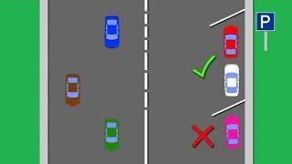 Как накажут югорских водителей за парковку на двух местах