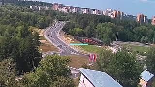 ДТП, Саров, перекресток пр Октябрьский ул Захарова, 3 августа 2018