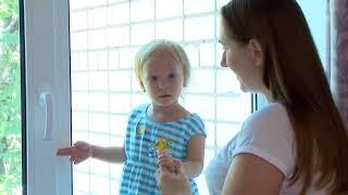 В Саратове участились случаи падения детей из окон