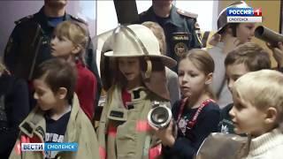 День добровольца отметили смоленские пожарные-спасатели