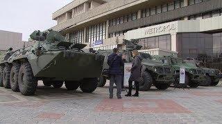 В Ставрополе поздравили ветеранов и военнослужащих с Днём защитника Отечества