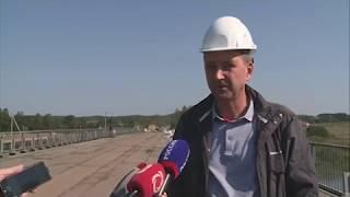 30 08 18 В Удмуртии готовятся к сдаче в эксплуатацию нового моста через реку Чепцу