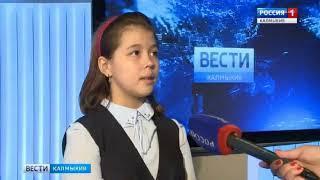 """Учащиеся Этнокультурной Гимназии в гостях у ГТРК """"Калмыкия"""""""