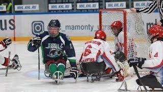 Открытый Международный турнир «Кубок Югры» среди клубов по следж-хоккею. Второй полуфинал