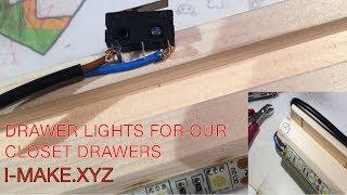 Drawer Lights four our wardrobe drawers