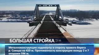 Строительство всех 8 опор Фрунзенского моста завершено