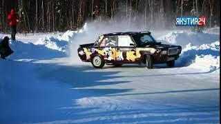 В Ленске устроили гонки на льду