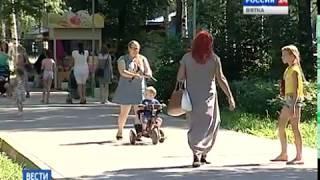 Благоустройство цветников и клумб в Кирове (ГТРК Вятка)