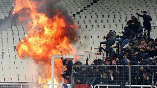 """АЕК-""""Аякс"""": беспорядки на стадионе"""