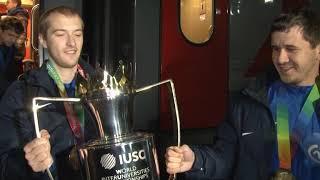 Сборная по футболу СГУ стала победителем Международного межуниверситетского чемпионата