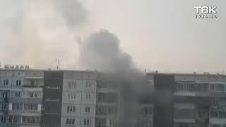 Пожар на ул. Воронова