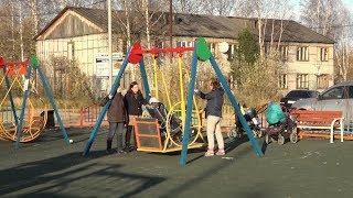 В Югре открыли инклюзивную детскую площадку