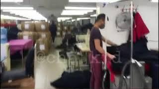 Мигранты шьют модную одежду в подпольном цеху. Краснодар