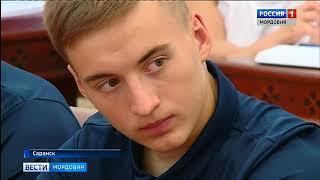 Сегодня Владимир Волков встретился с игроками футбольного клуба «Мордовия»