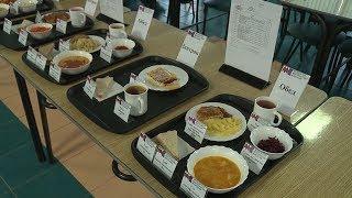 В школе № 30 состоялась дегустация блюд из ежедневного рациона учащихся