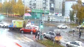 ДТП Машиностроителей/С.Орджоникидзе. 24.10.18.