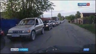 Работу светофора на мосту в Соломенном отрегулируют