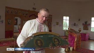 В Кичменгскогородецком районе восстановили единственный деревянный храм