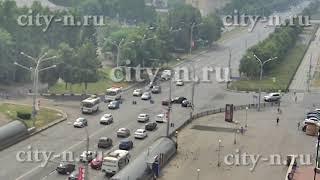 В Новокузнецке на Кирова-Тольятти снова ДТП
