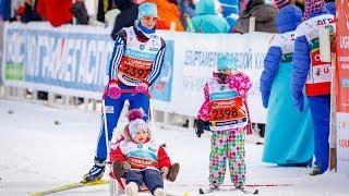 В Югорском лыжном марафоне пробегут двухлетние дети