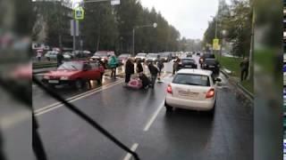 На улице Труфанова в Ярославле автомобиль сбил девочку