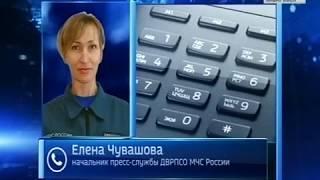 Комсомольские спасатели потушили пал