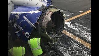 Строго по протоколу: как пилот в США смогла посадить Боинг с взорвавшимся двигателем