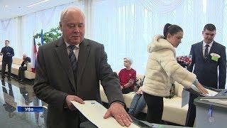 Константин Толкачев отдал свой голос на выборах президента России