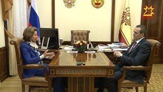 Глава Чувашии Михаил Игнатьев провел рабочую встречу