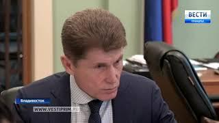 Олег Кожемяко со скандалом уволил директора департамента градостроительства края