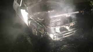 Ночью в Рыбинске горели три автомобиля