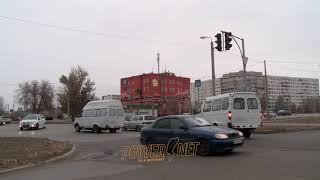 ДТП (авария г. Волжский) ул. Карбышева ул. 40 лет Победы 26-11-2018 16-52