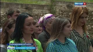 В Учкекене торжественно открыли современный плавательный бассейн