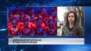 События Череповца: «черный» лесоруб, вступление в ряды юнармейцев, «Парковка по правилам»