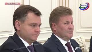 Глава Дагестана встретился с президентом «Объединенной авиастроительной корпорации»