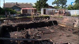 Археологи обнаружили очередную берестяную грамоту на месте будущего частного дома