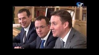 Новгородскую область посетил председатель правления «Россельхозбанка» Дмитрий Патрушев