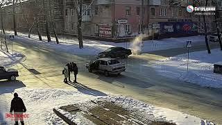 Бийск ДТП на перекрестке 8 Марта - Горно-Алтайская 5.12.2018