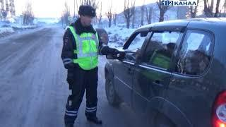 Массовая проверка водителей на ул Кирова