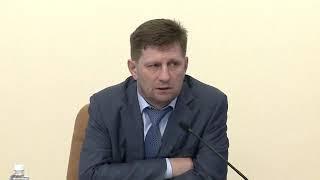 Сергей Фургал разбирается с долевым строительством в Хабаровском районе