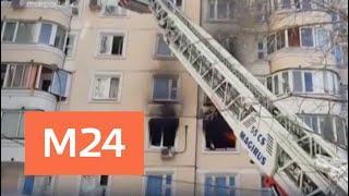 Пожарные спасли 55 человек из горящего дома - Москва 24