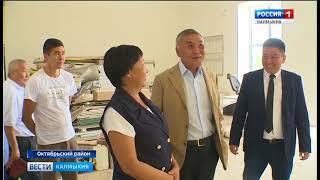 В поселке Большой Царын Октябрьского района завершается реконструкция Дома культуры