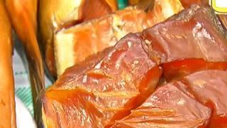 """Рай для гурманов. В """"Юности"""" открылась ярмарка рыбных деликатесов"""