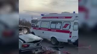 Жуткое ДТП под Волгоградом. Машину разорвало на части